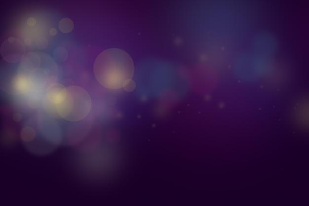 Bokeh colorful glows sparkle background