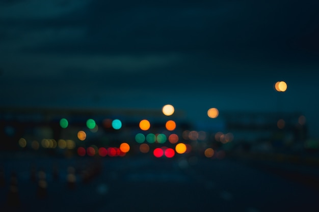 Bokeh colorfull blurred abstract background