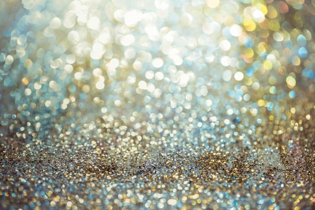 Bokeh glitter colorfullぼんやりした抽象的な背景
