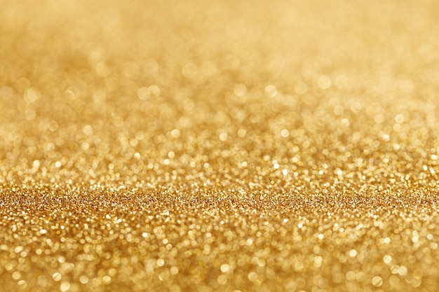 금빛 반짝임의 보케 라이트
