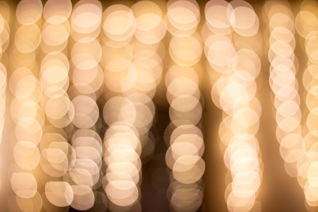 Bokeh light vintage background. christmas and new year
