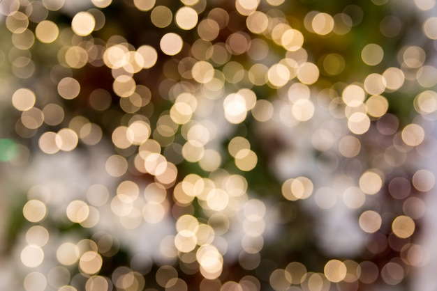 Bokeh lights abstract background.