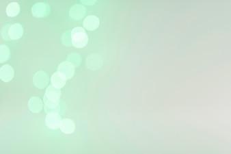 Bokeh lights in greenness