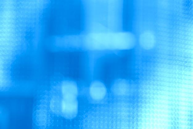 Боке огни на синем фоне