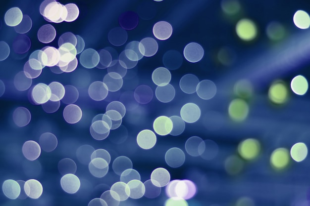 Bokeh of the room lighting for abstract background