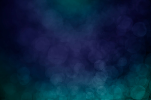 Bokeh water dot tone blue for background