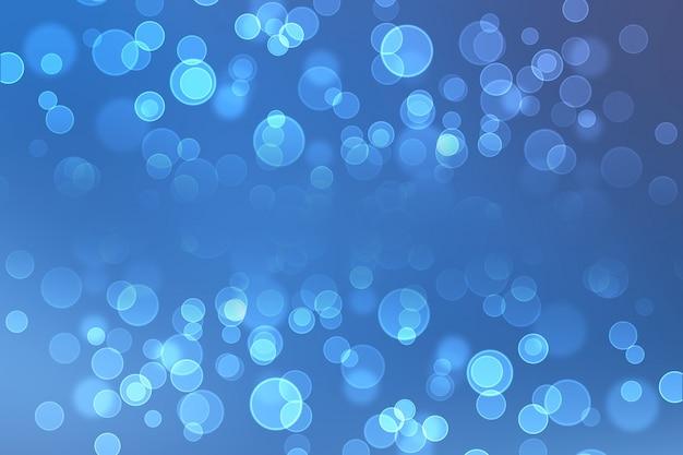 抽象的なライトbokehの背景