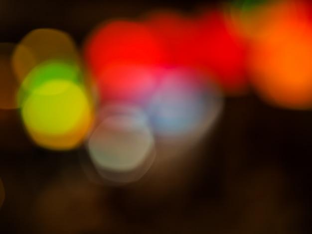 抽象的なぼかしのパステルブレンドの色のブロットのbokehの背景