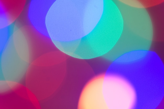 カラフルな抽象的なbokehライトテクスチャのパターンの背景