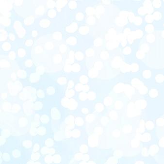 青、bokeh、クリスマスライトの抽象的なテクスチャ