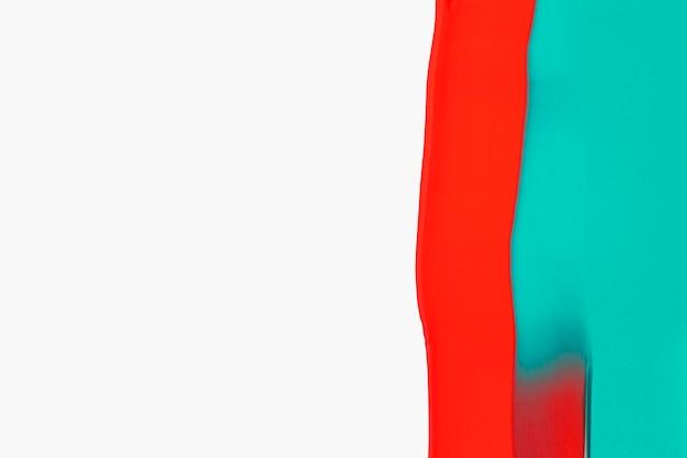 大胆な色のペンキの背景の壁紙、アクリル絵の具の抽象芸術