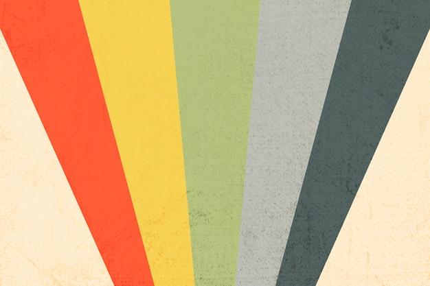 대담한 색상 줄무늬 패턴 배경