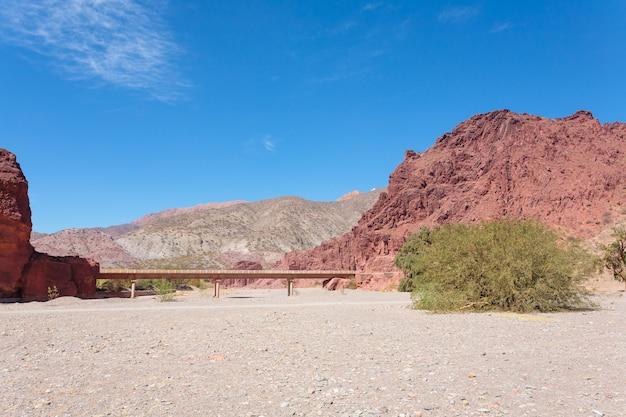 Bolivian canyon near tupiza