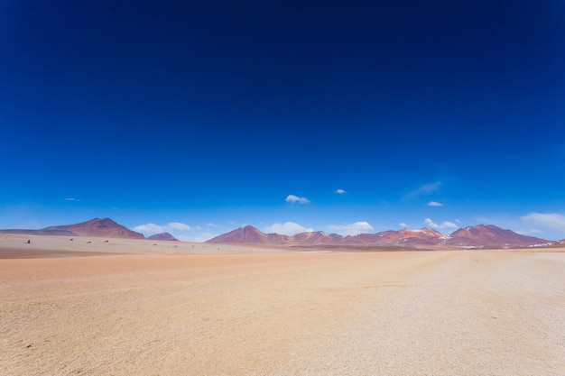 Bolivian landscape, salvador dali desert view