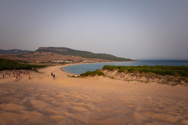 スペイン、アンダルシアのボロニア砂丘