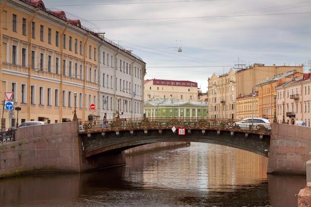 Bolshoi koniushennyi bridge  in saint petersburg