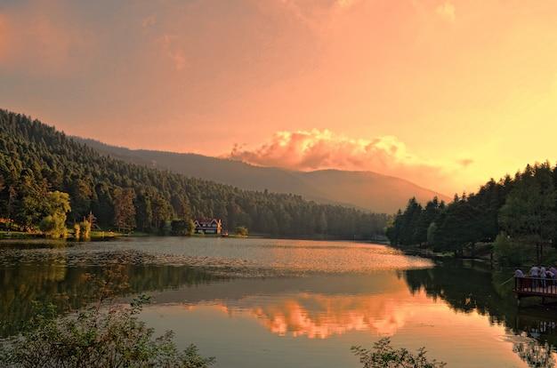 Bolu forest golcuk national park turkey