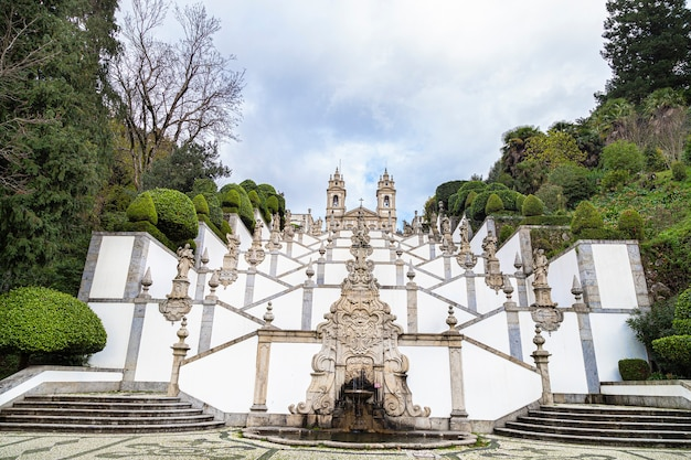 Bom jesus do monte in portugal, 08 november 2019