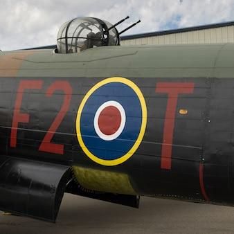 Bomber aircraft at bomber command museum of canada, nanton, southern alberta, alberta, canada