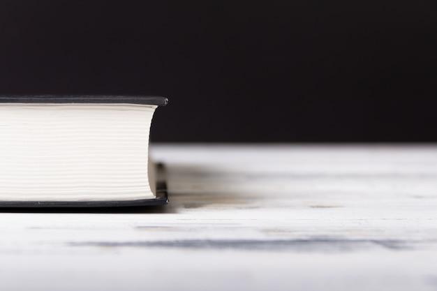 製本の背景。教育コンセプト。