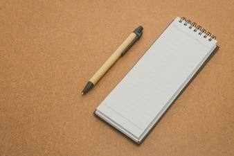 Book business notebook corporate card