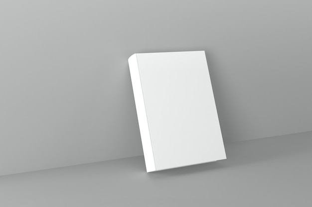 Обложка книги макет 3d рендеринга иллюстрация