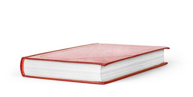 白地に赤の本