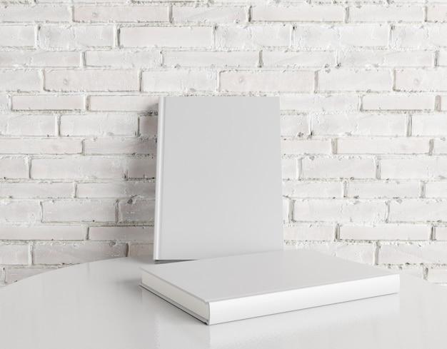 Книга на фоне кирпичной стены