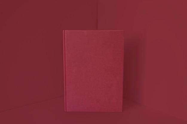 Книга с эффектом красного цвета