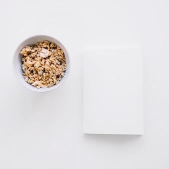 穀物の小冊子模型
