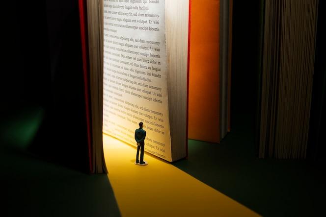 책과 상상력 정물