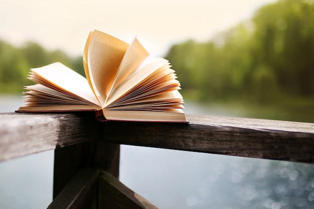 Books outdoor