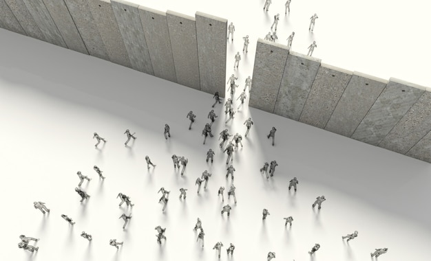 Border barrier concept