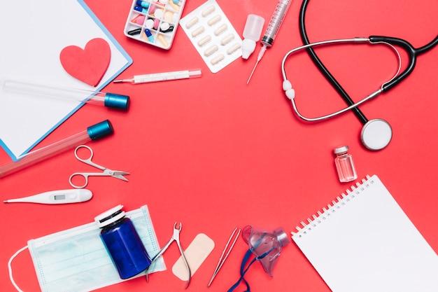 Граница от ноутбука и предметов медицинского назначения