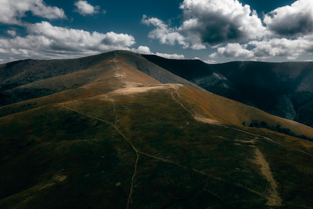 Borzhavsky range carpathians ukraine mountain landscape