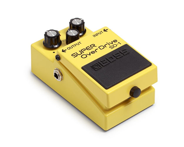 Boss electric guitar effects pedals