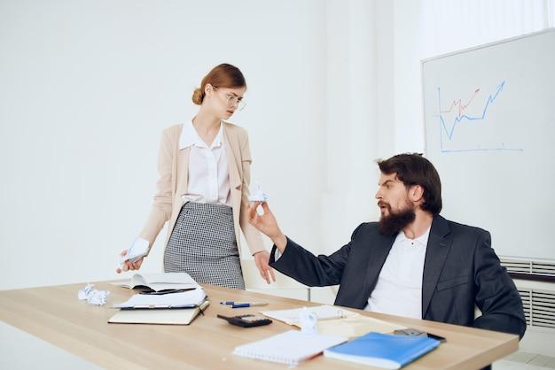 Boss harassing secretary harassment work office work