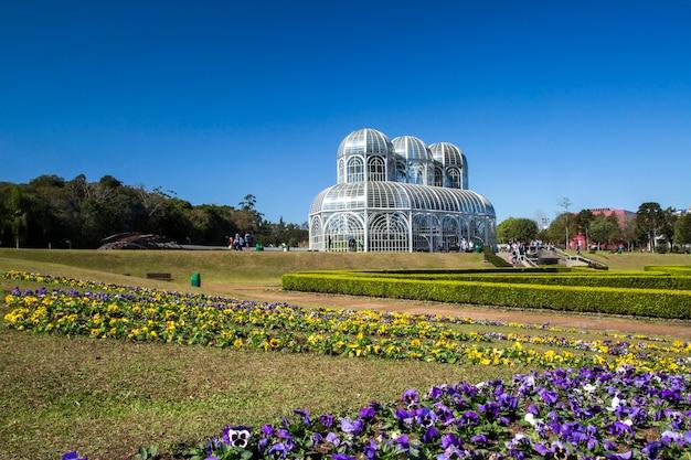 Ботанический сад куритибы, парана.