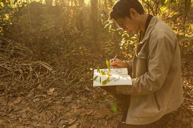 Botanists are taking note of the plants found in the tropical forests