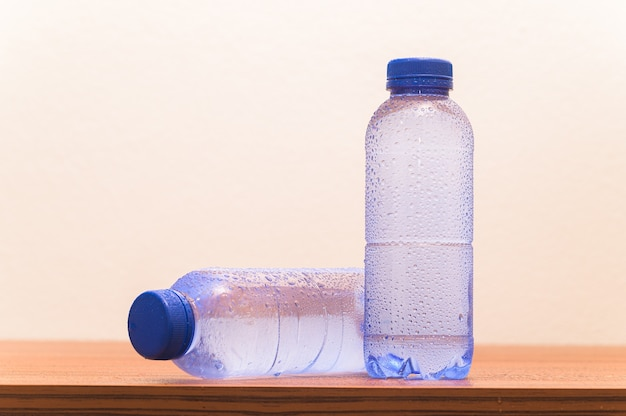 Bottle of drinking water. drinking water for health