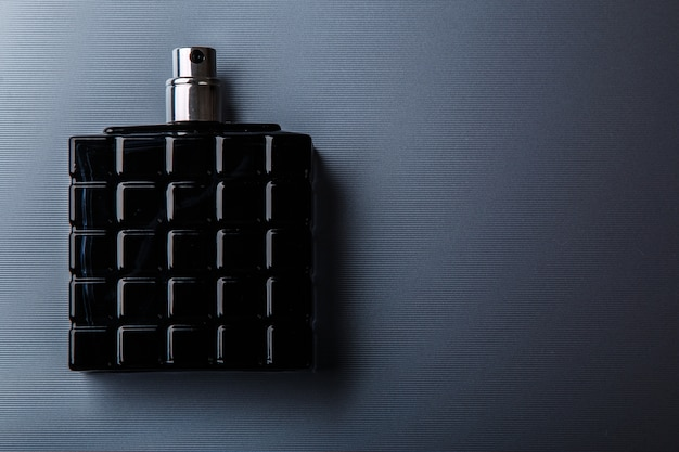 Bottle of male perfume
