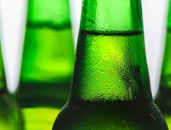 Bottle of cold beer