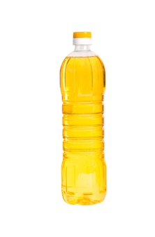 分離されたオイルのボトル