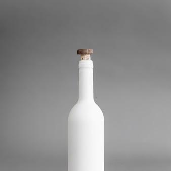 Bottiglia con mockup di sughero