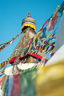 ネパールのboudhanath temple