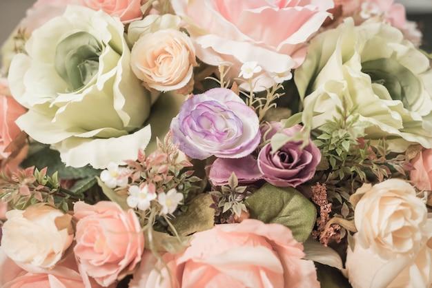 花束の花の背景
