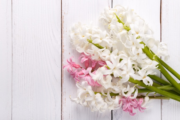 Bouquet of hyacinth flowers