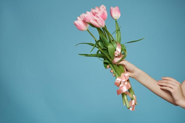 手装飾ギフトロマンスの美しい花の花束