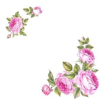 バラの花束。