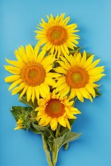 해바라기 씨 꽃의 꽃다발